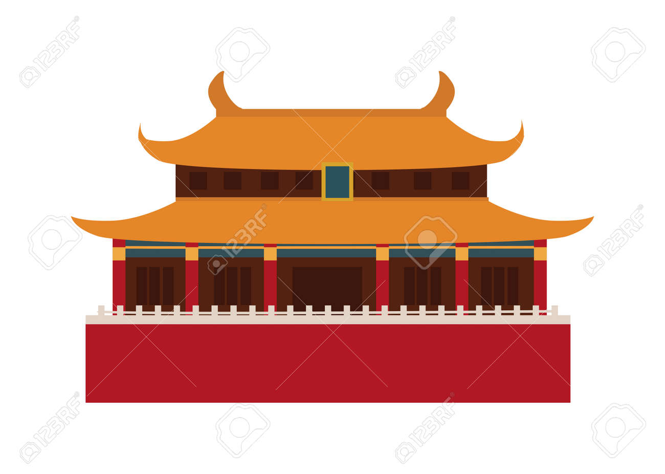 Chinese Temple Asia Culture Architecture And Travel Ancient Building Famous Old Structure