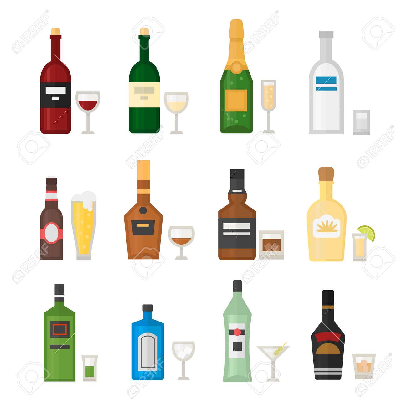 Alkoholgetränke Getränke Und Alkohol Cocktail Whisky Trinken Flasche ...