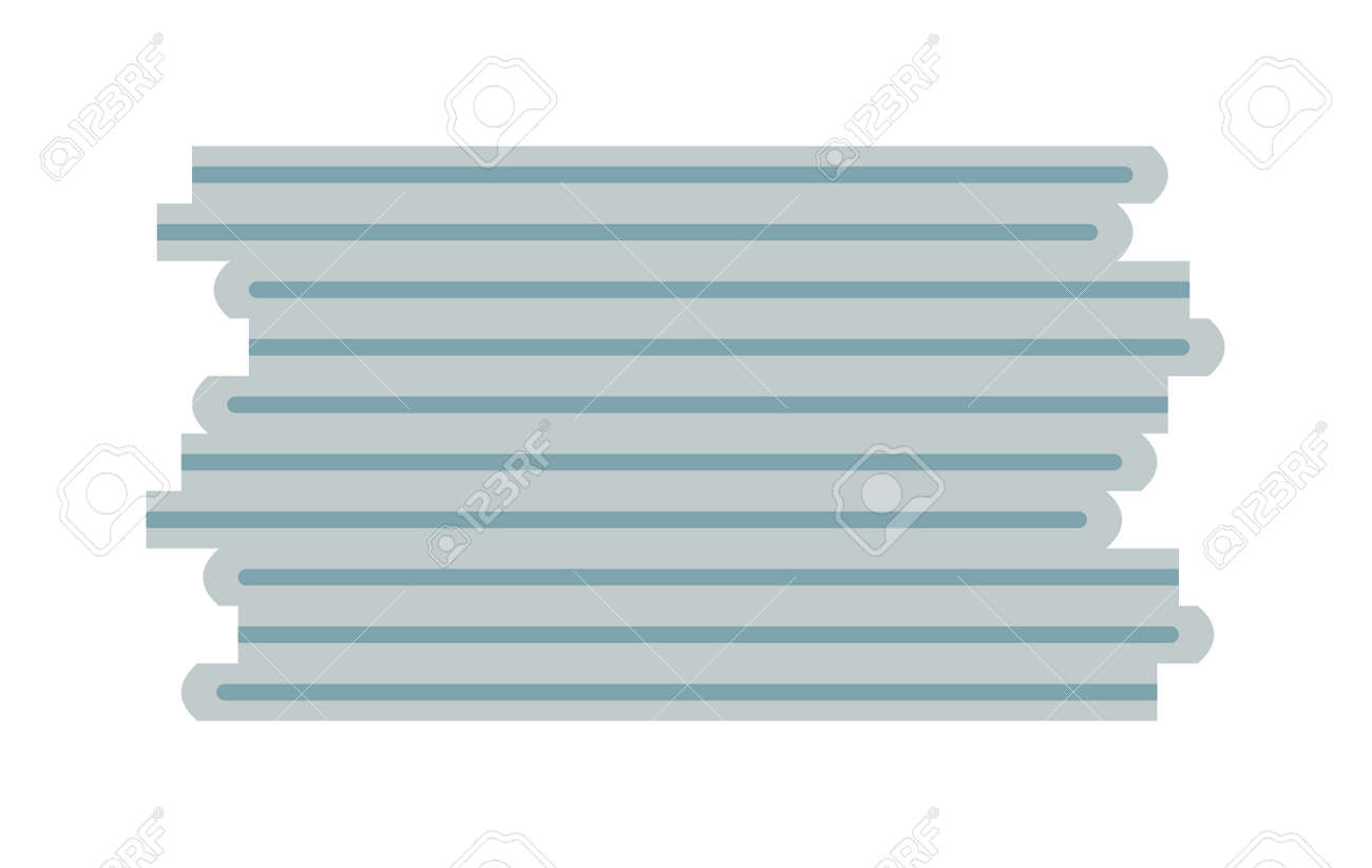 paper stack blank and clean paper sheet. clean paper stack template
