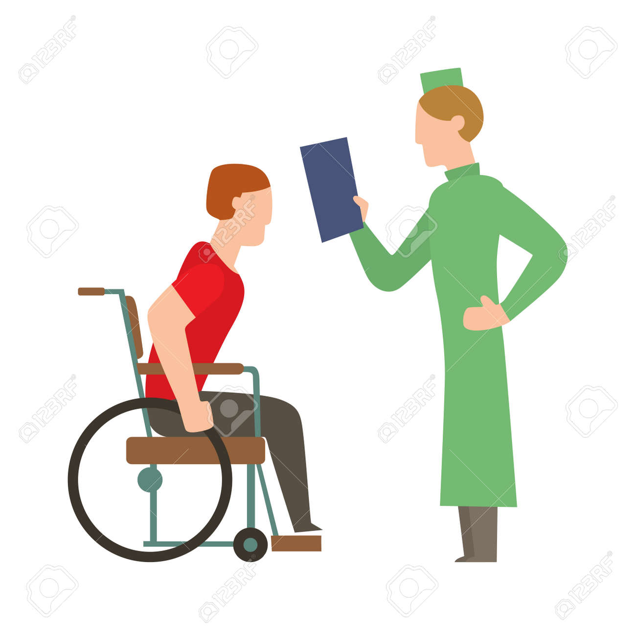 Cartoon physical therapy - Vector Medical Trauma People Stick Man Physical Therapy Concept Trauma People Medicine Human Treatment