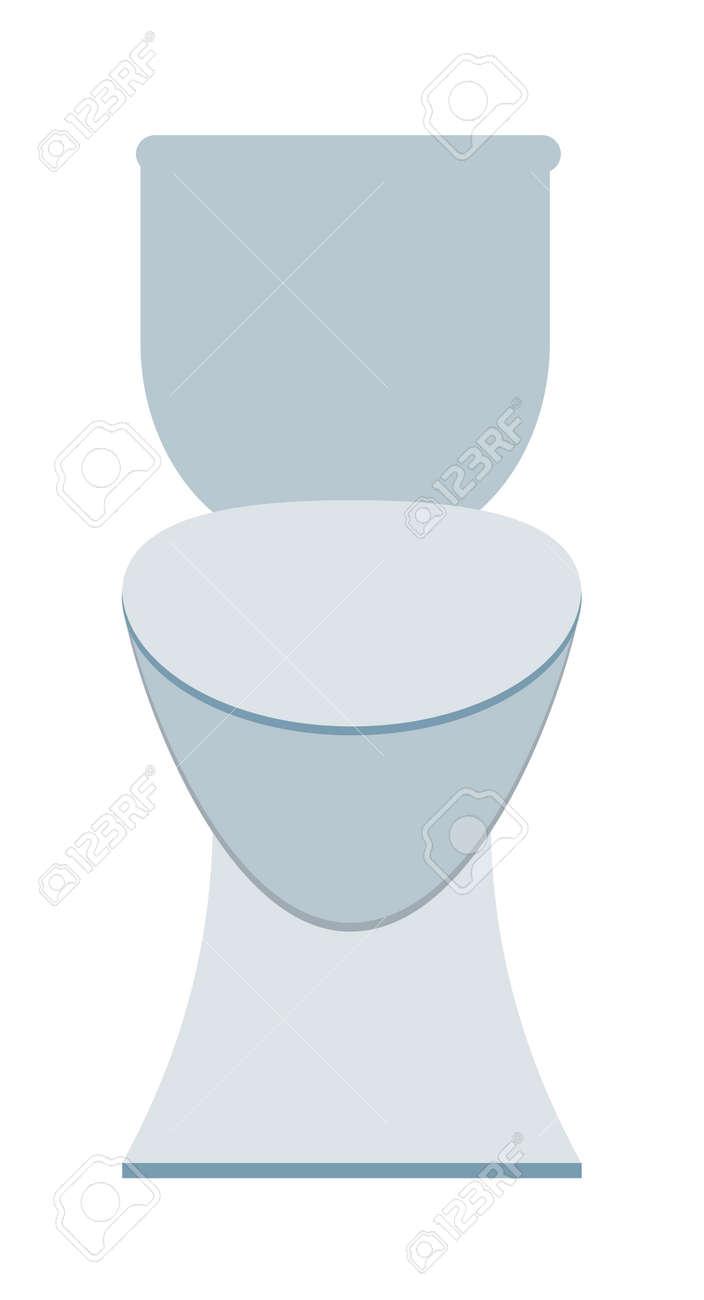 Lavatory Toilet And Clean Toilet Bowl. Domestic Porcelain Toilet ...