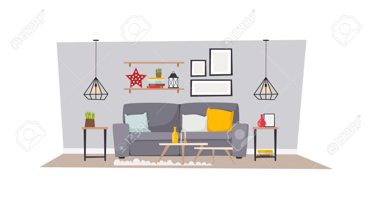 Luxurious Open Floor Cabin Interior Bedroom Design With Roaring ...