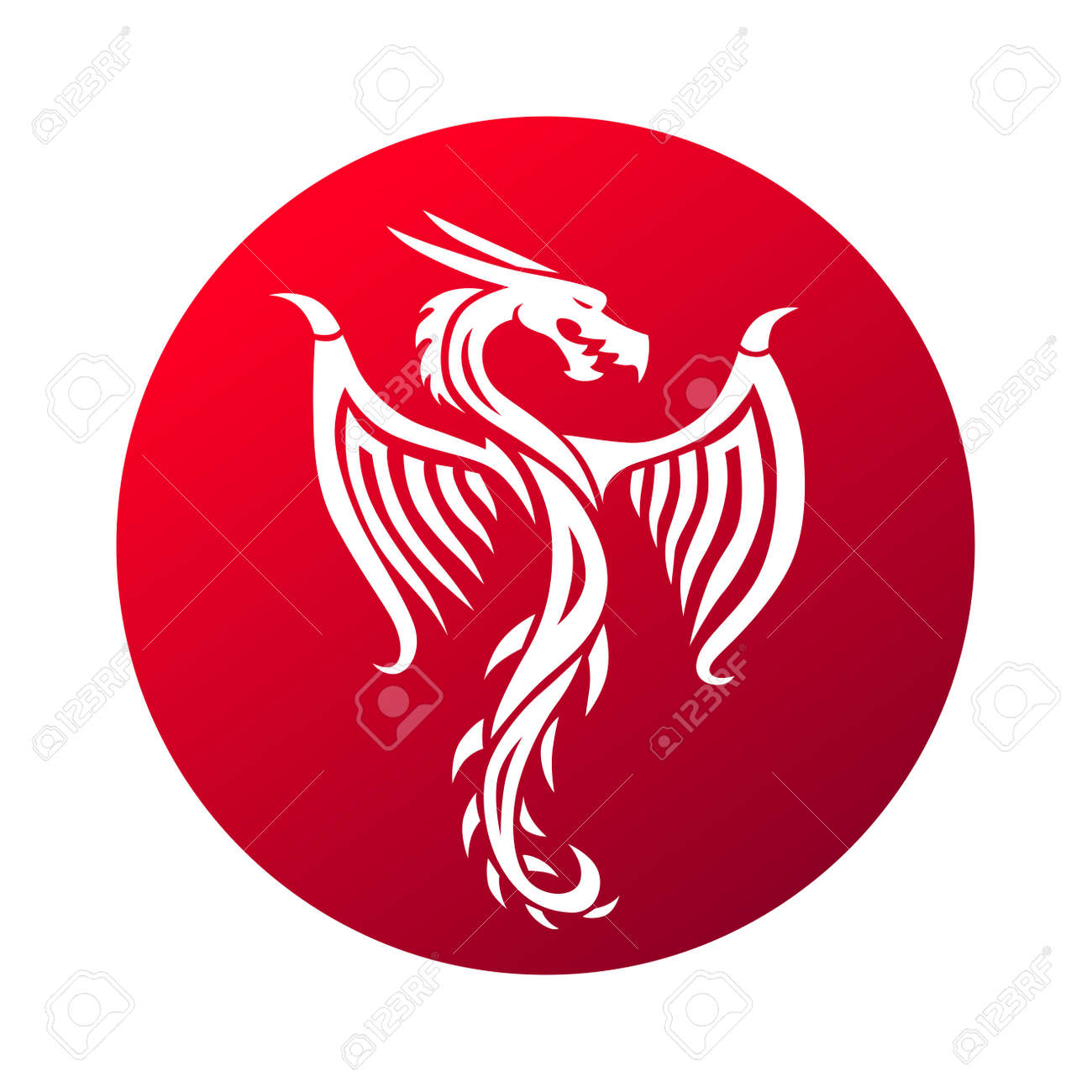 Red paper dragon china zodiac symbols chinese dragon vector red paper dragon china zodiac symbols chinese dragon vector and red chinese dragon art biocorpaavc