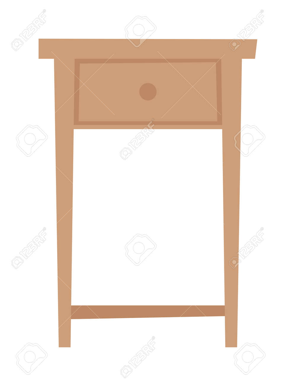 Bedside Nightstand And Wooden Nightstand Classic Contemporary Royalty Free Cliparts Vectors And Stock Illustration Image 56524209