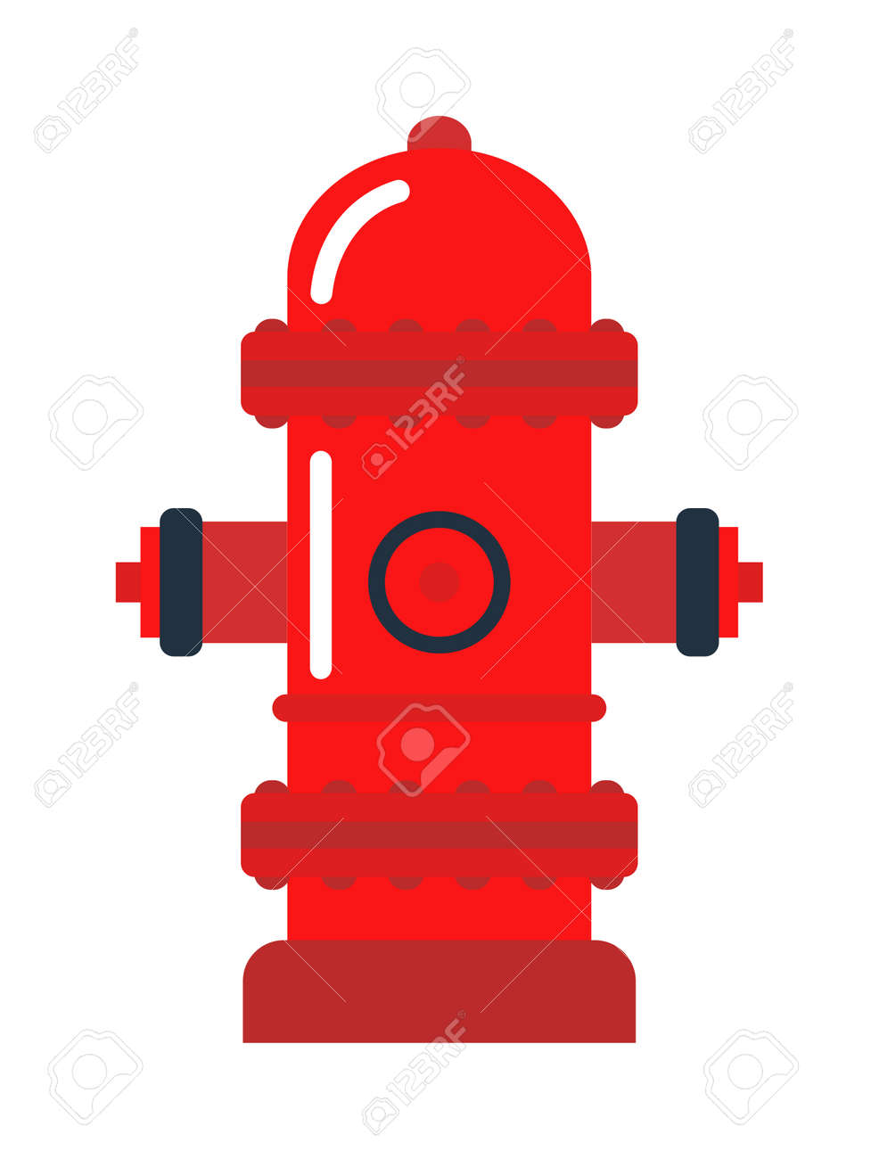 Vector illustration of fire hydrant safety fire hydrant emergency vector illustration of fire hydrant safety fire hydrant emergency department fire hydrant and protection buycottarizona Images