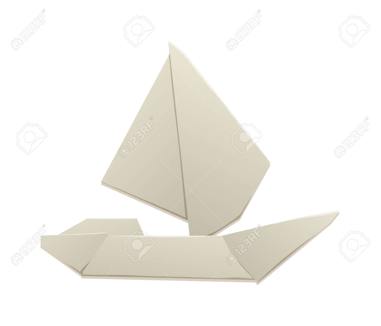 Vector toy ship white origami boat and travel sailboat toy ship toy ship fun model yacht andplay small toy ship transportation ocean cruise children toy and game craft old souvenir origami toy jeuxipadfo Images