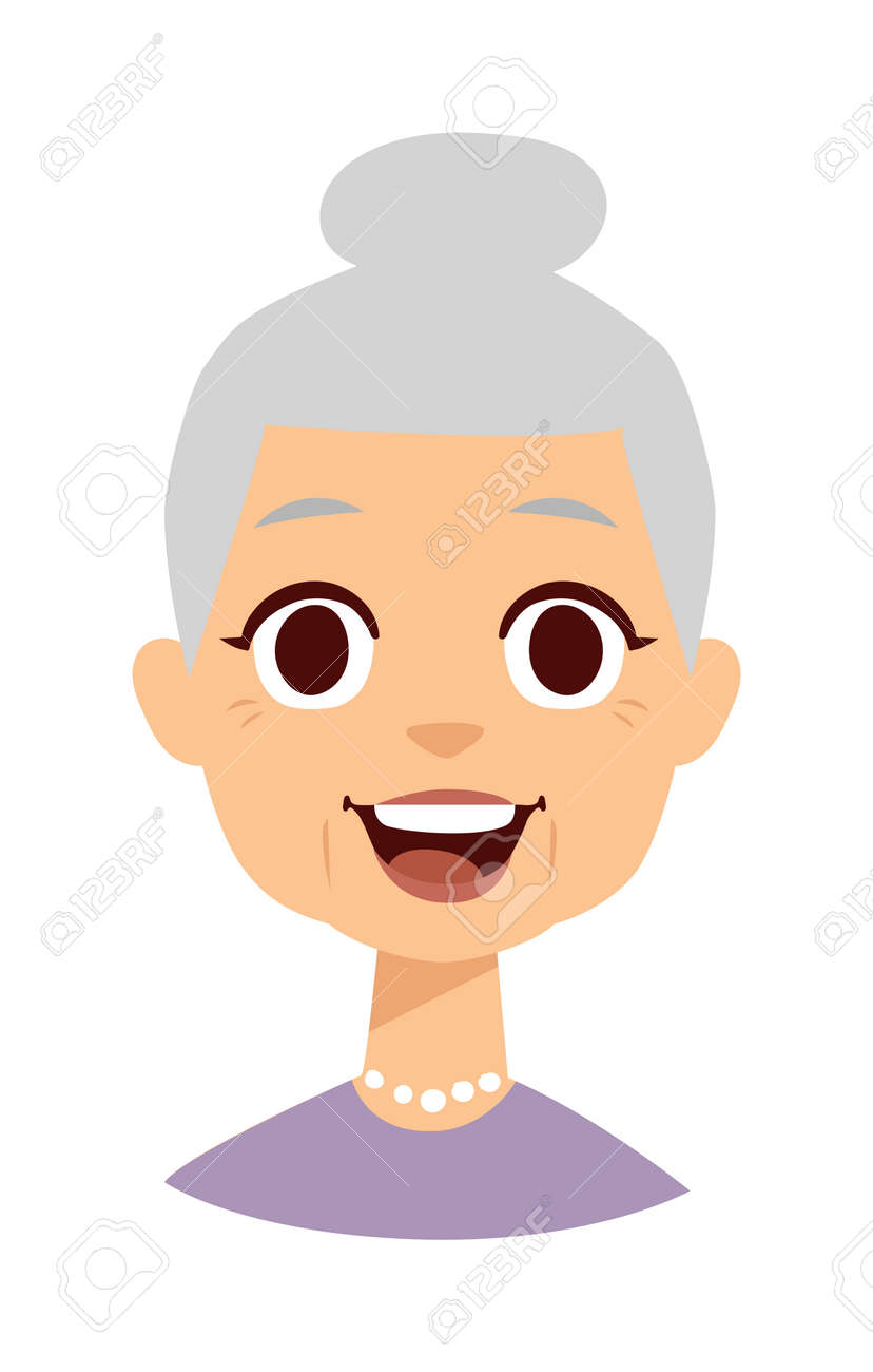 Image of: Tweets Old People Cute Granny And Funny Cute Granny Face Cute Granny Vector Character And Cartoon 123rfcom Old People Cute Granny And Funny Cute Granny Face Cute Granny