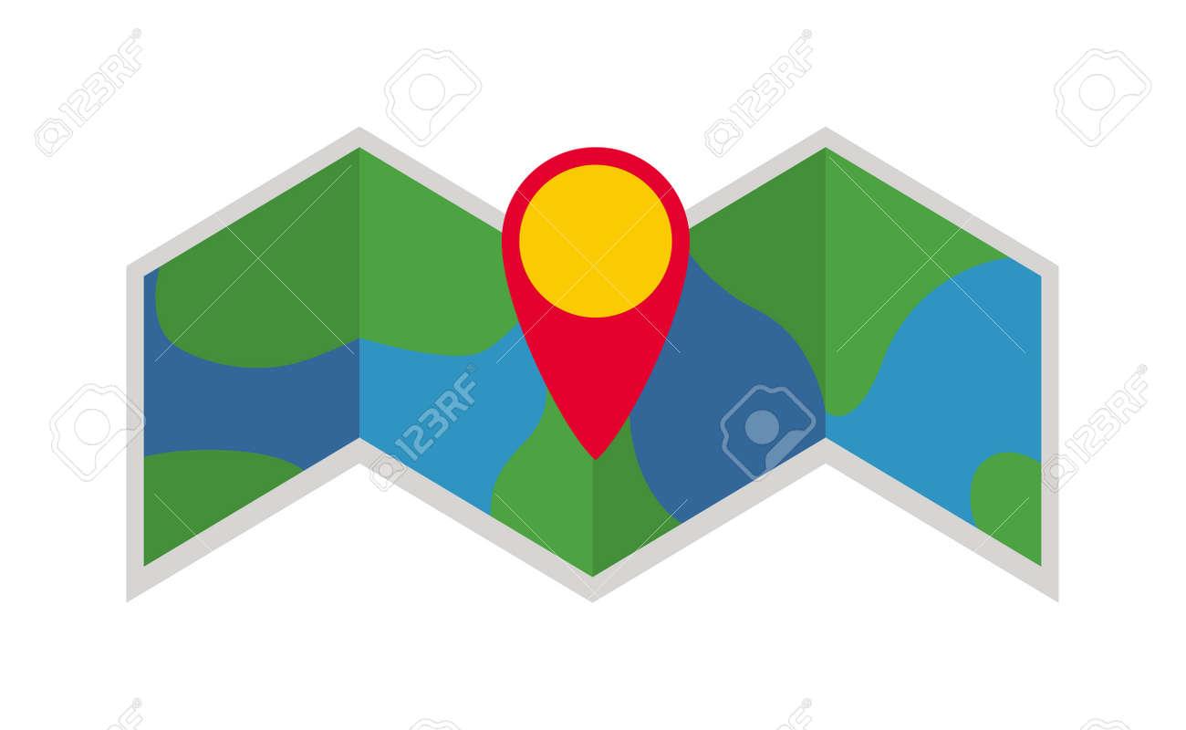Ruta De Viaje Mapa Del Planeta Y El Mapa Plano Continente Negocio ...