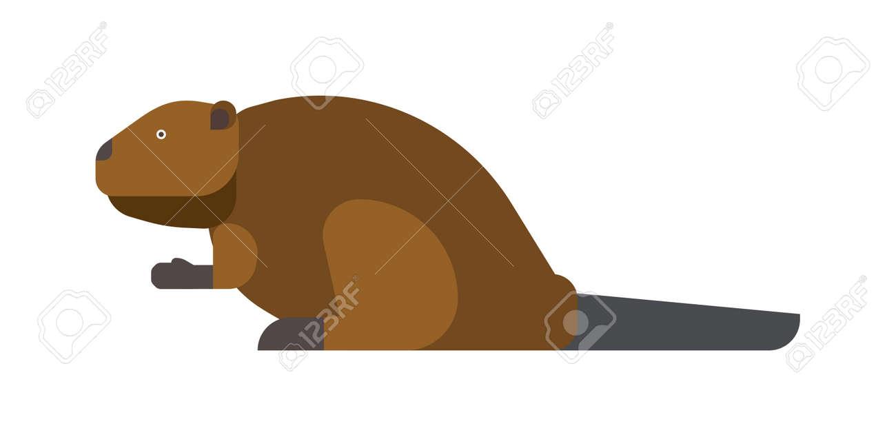 Funny beaver illustration cartoon style beaver animal wild funny beaver illustration cartoon style beaver animal wild rodent mammal nature beaver cute voltagebd Images