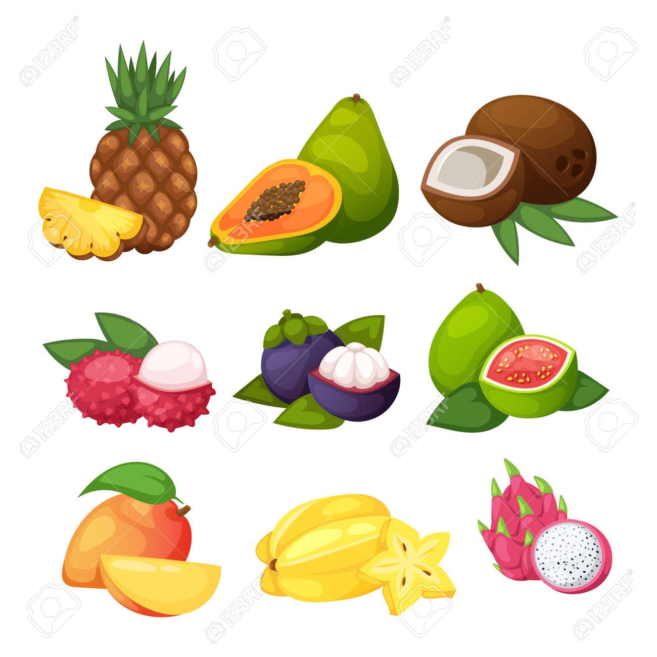 Großzügig Malvorlagen Für Tropische Früchte Bilder - Beispiel ...