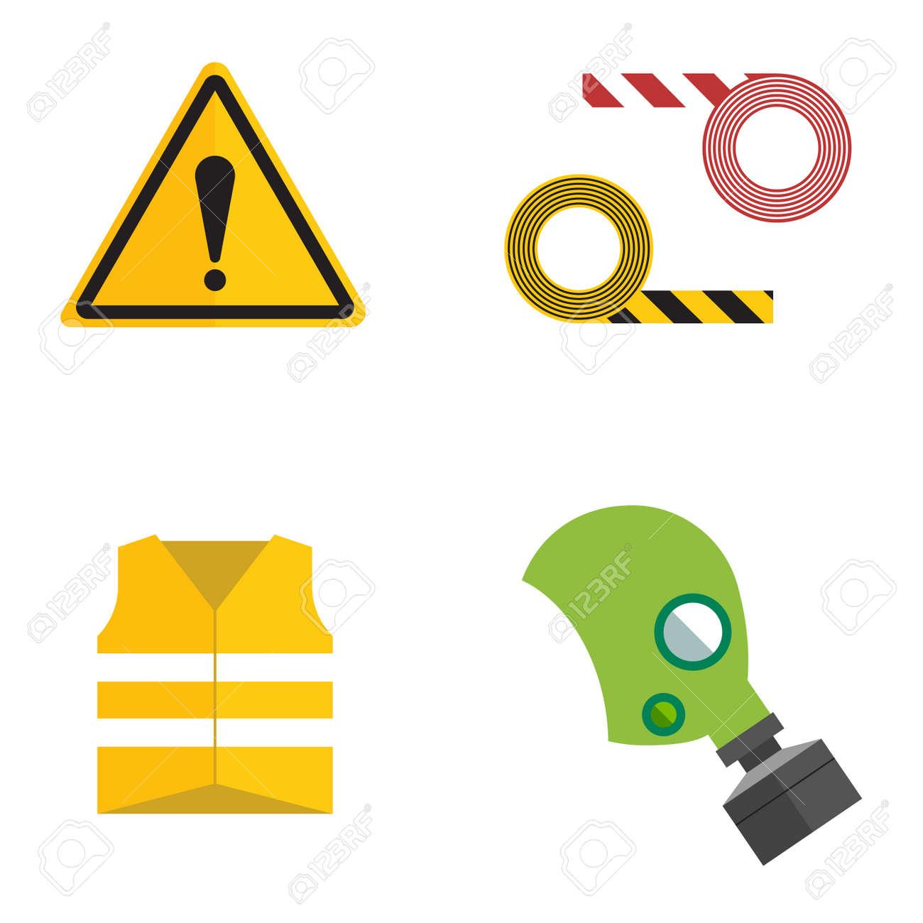 Safety work icons flat style safety icons vector illustration safety work icons flat style safety icons vector illustration safety icons isolated on white buycottarizona