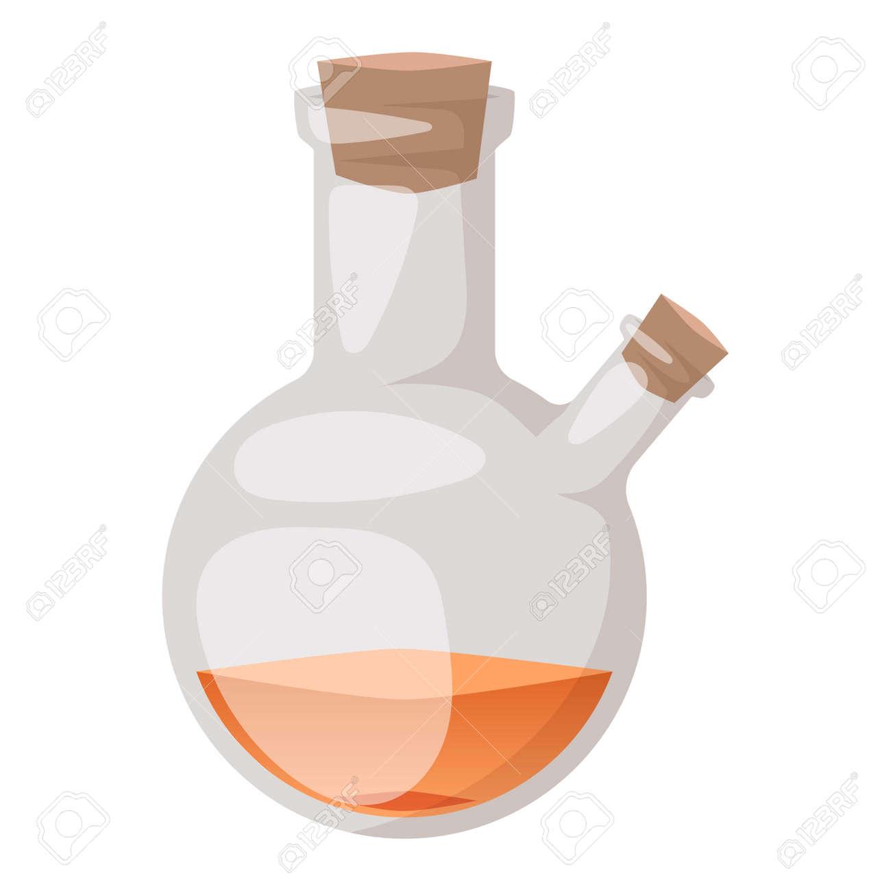 Chemical laboratory vector lab flask glassware tube liquid biotechnology
