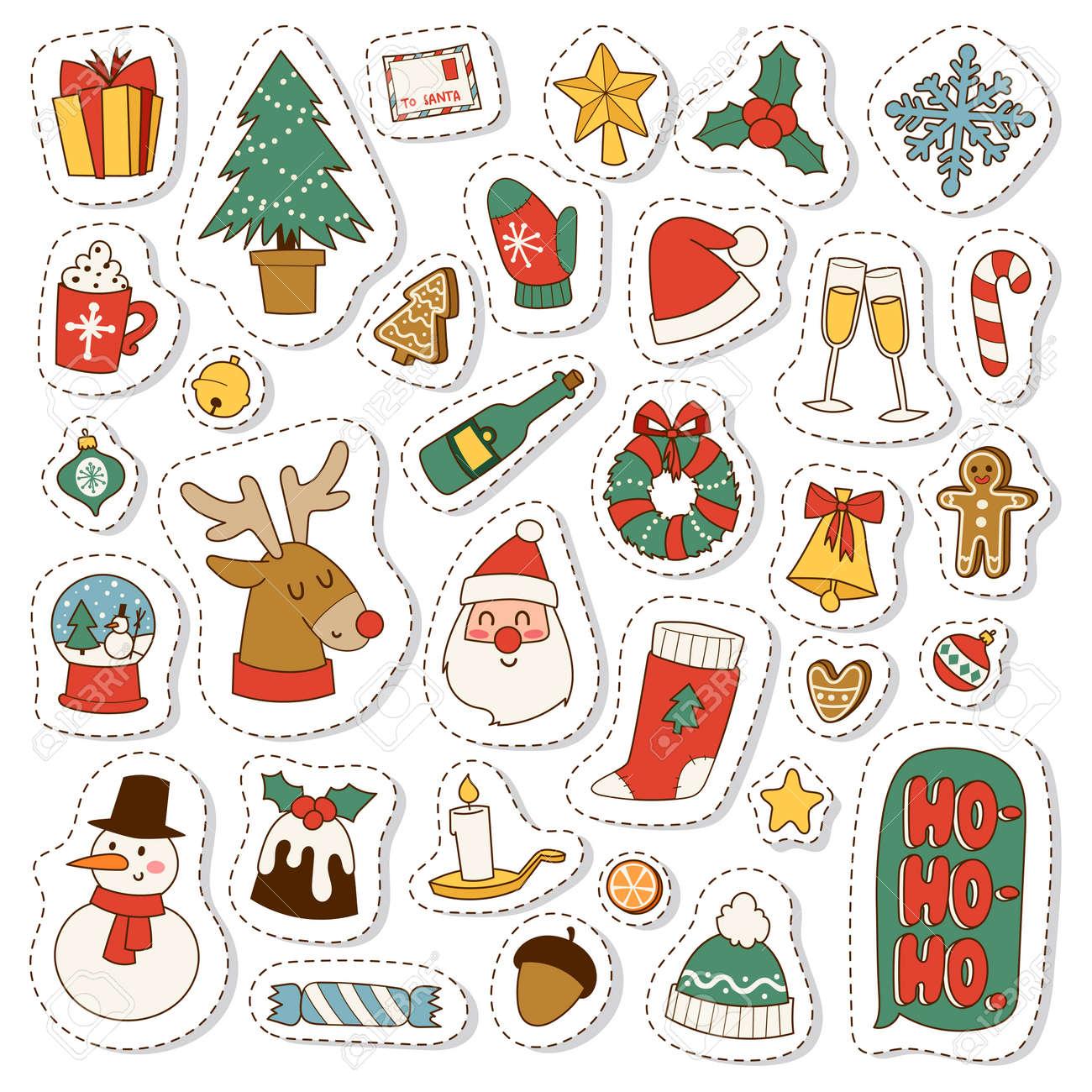Christmas greeting card symbols vector winter celebration design christmas greeting card symbols vector winter celebration design merry christmas symbols holidays winter decoration ornament biocorpaavc