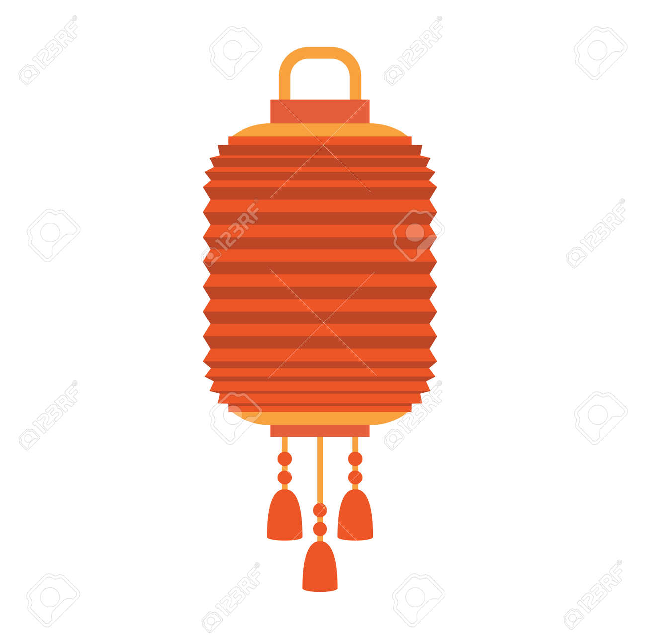 Chinese Lantern Vector Isolated Paper Holiday Celebrate Graphic Royalty Free Cliparts Vectors And Stock Illustration Image 64997656