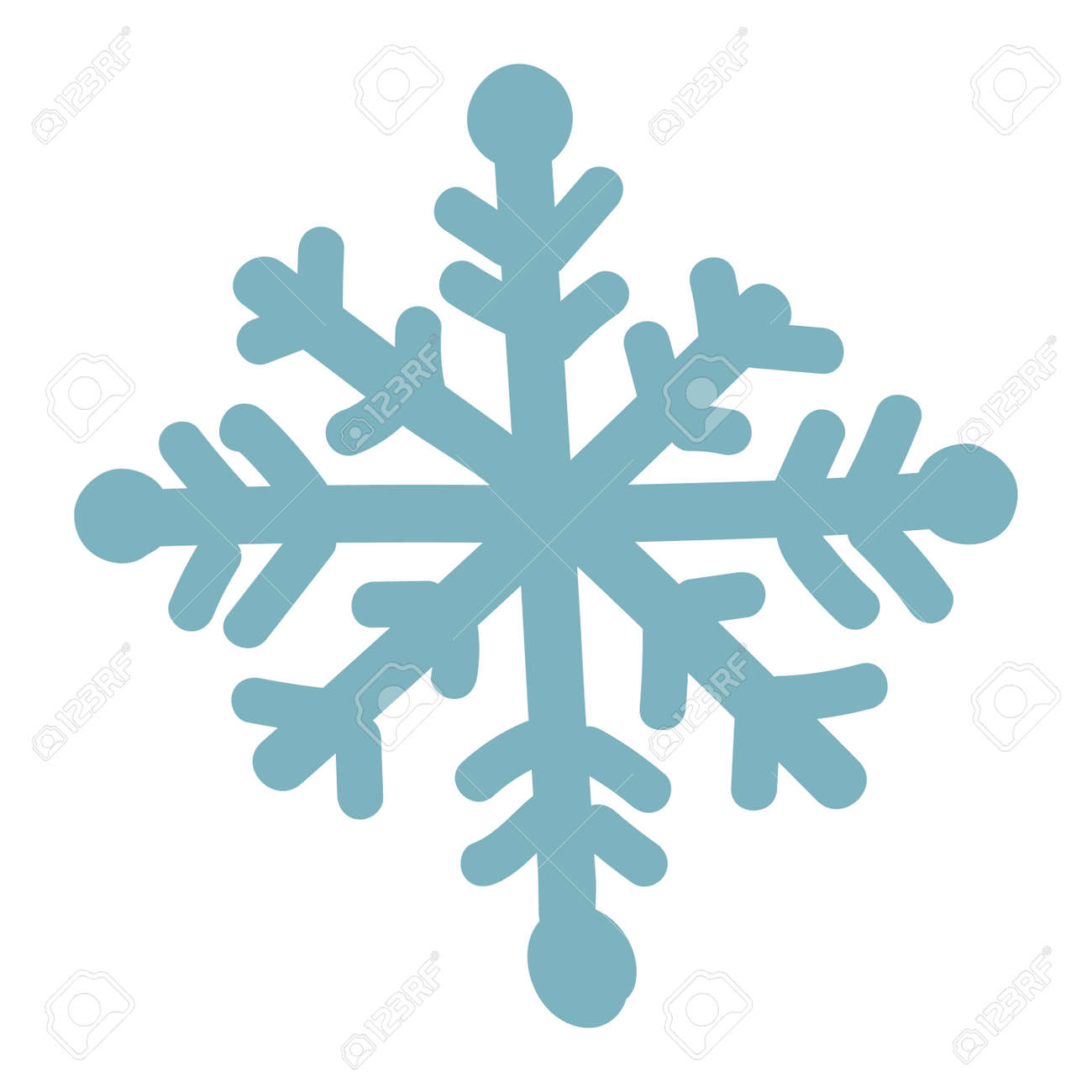 snowflake vector illustration and season nature winter snowflake rh 123rf com snowflake vector free eps snowflake free vector art