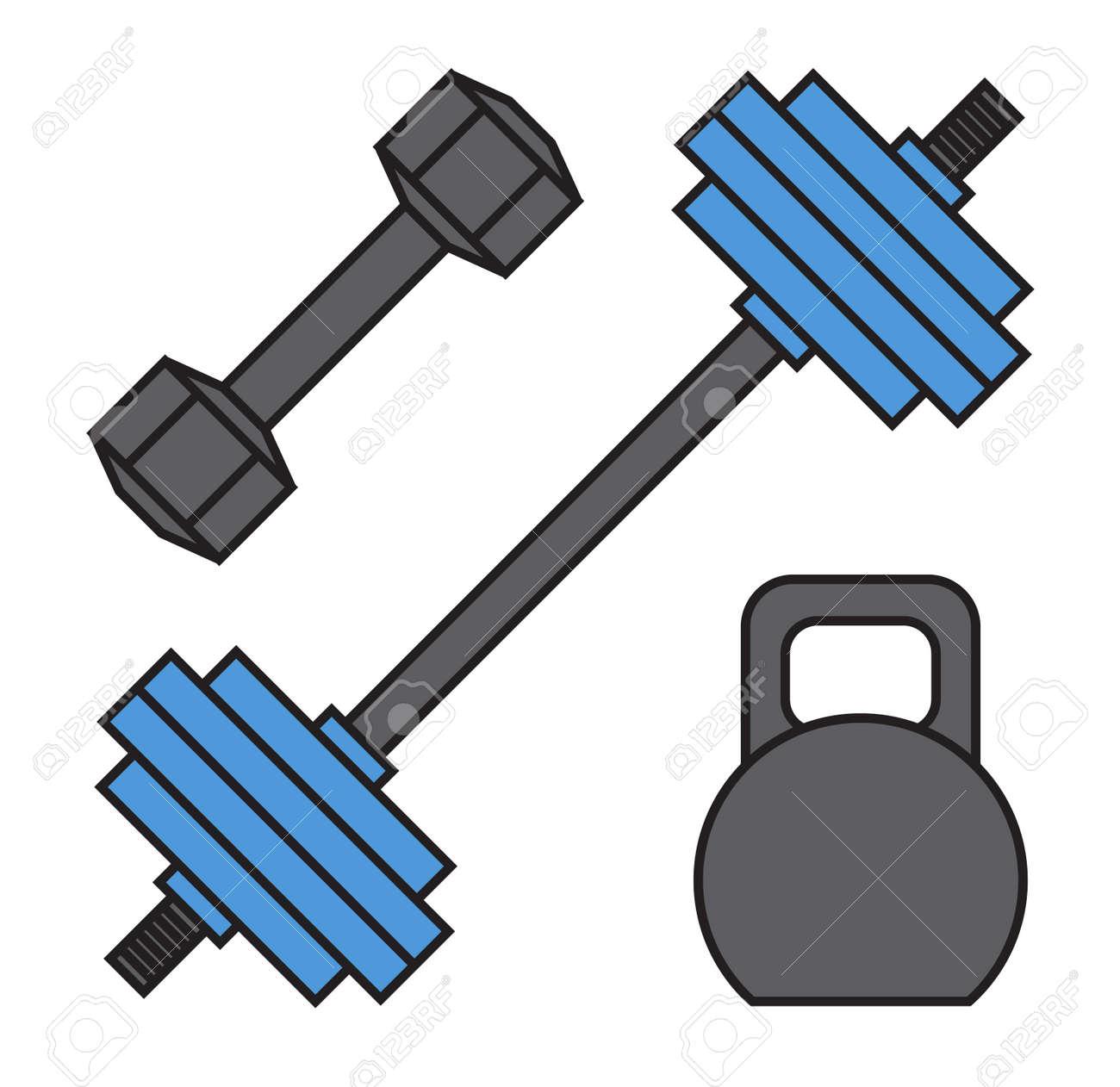 Fitnessgeräte  Heavy Workout Bodybuilding Hantel Gewichtheben Werkzeuge. Power ...