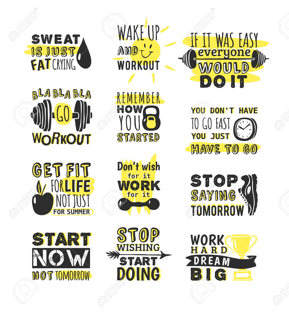 Inspirational Phrases Sport Motivation Phrases Themeinspirational Lettering For Logo