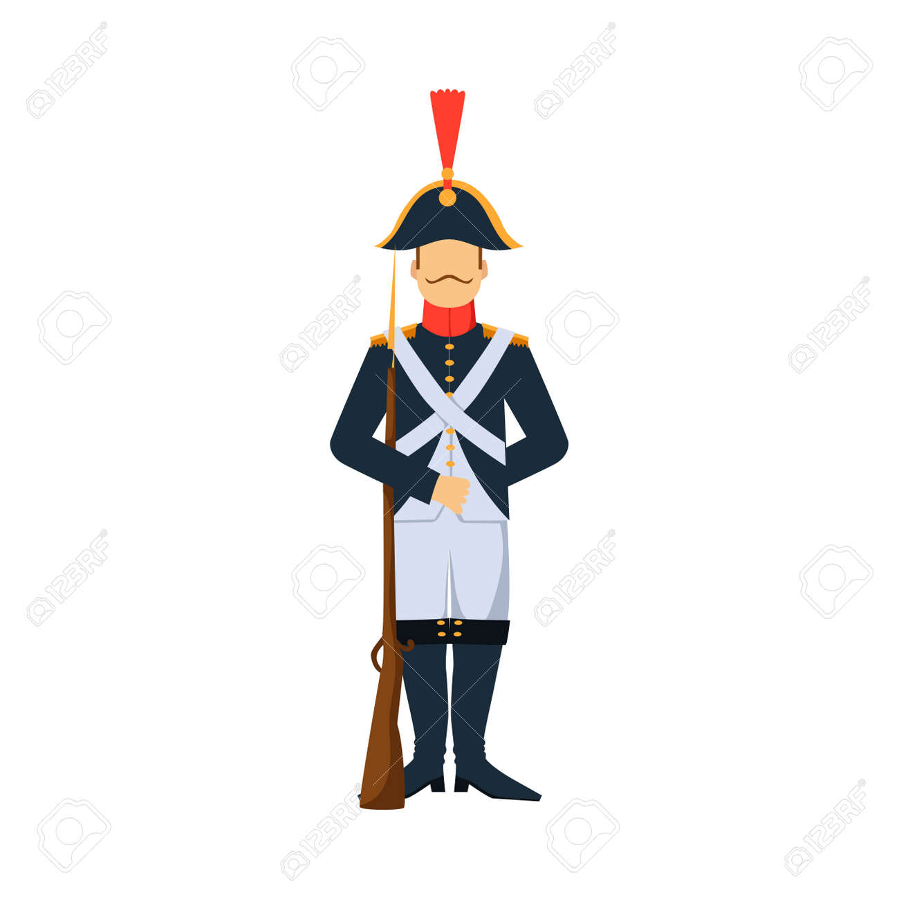 El Diseño Militar De Las Fuerzas De La Silueta Del Hombre De La ...