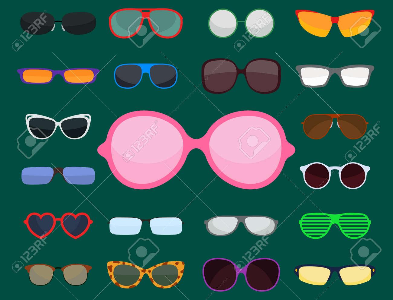 Mode-Set Sonnenbrille Zubehör Sonne Brille Kunststoffrahmen Moderne ...