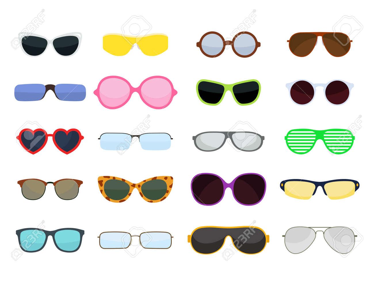 Gafas De Sol Conjunto De Moda De Diseño Retro Accesorio Sol óptico ...