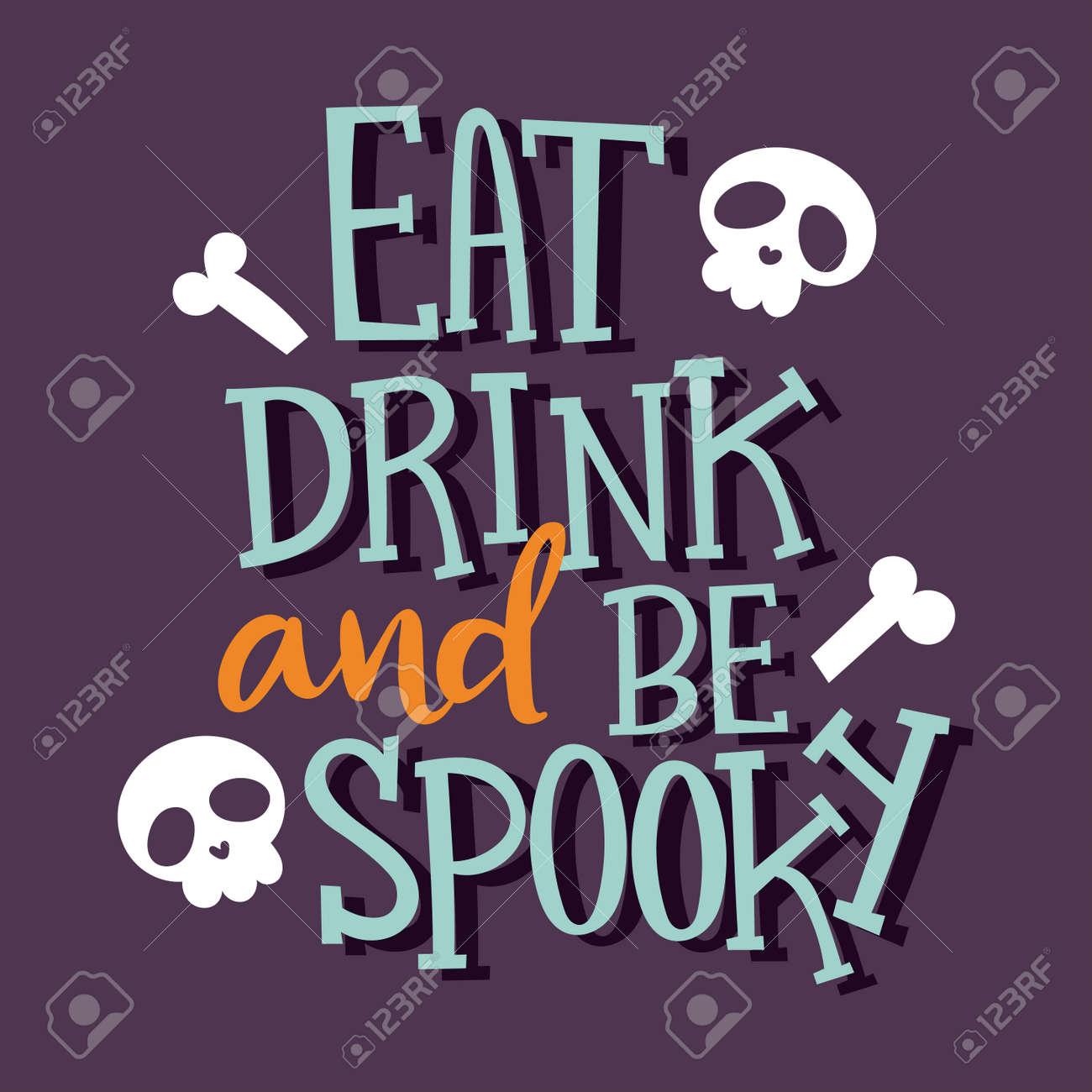 Halloween Party Celebration Invitation Cards Vector Illustration