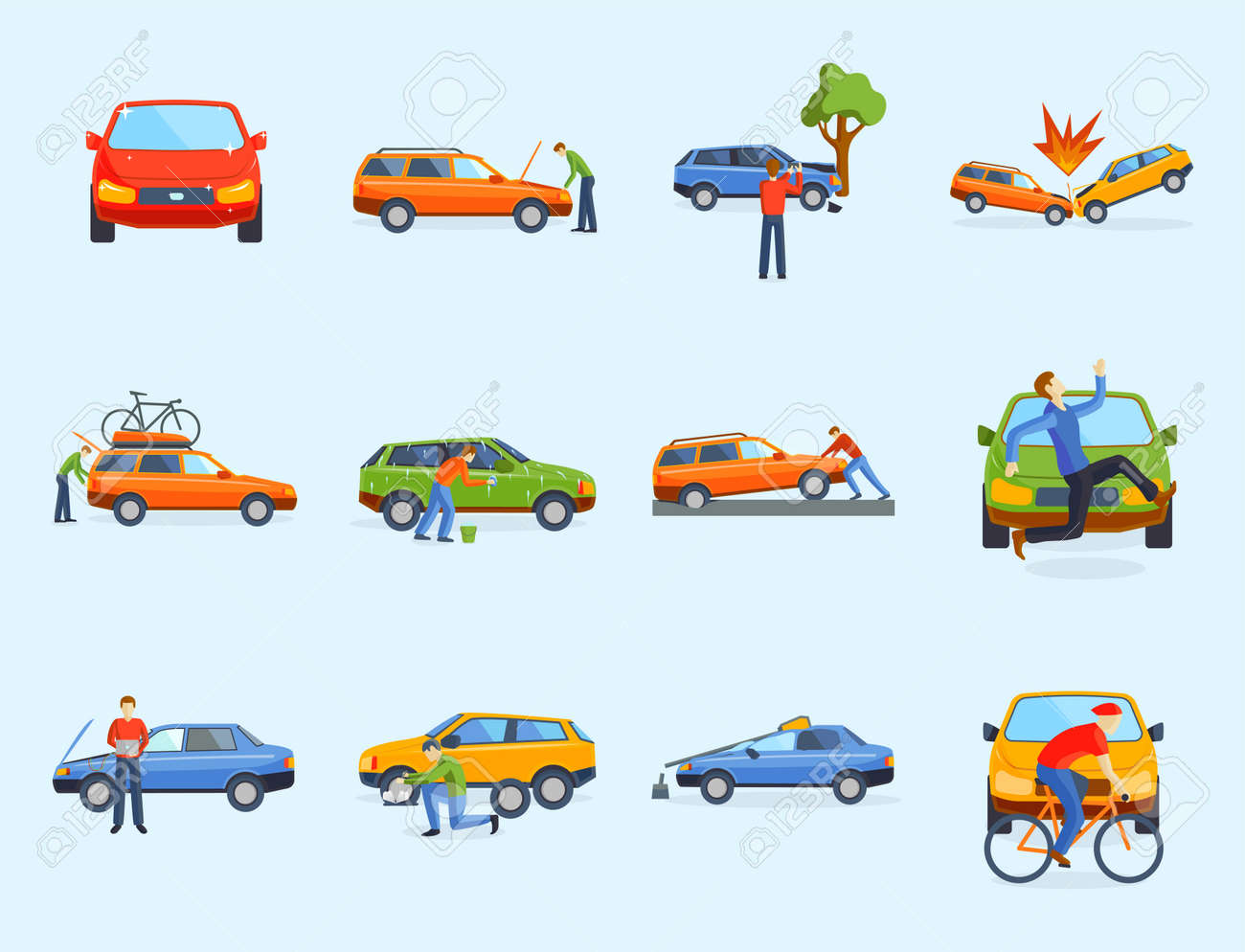 占い 交通 車 夢 事故