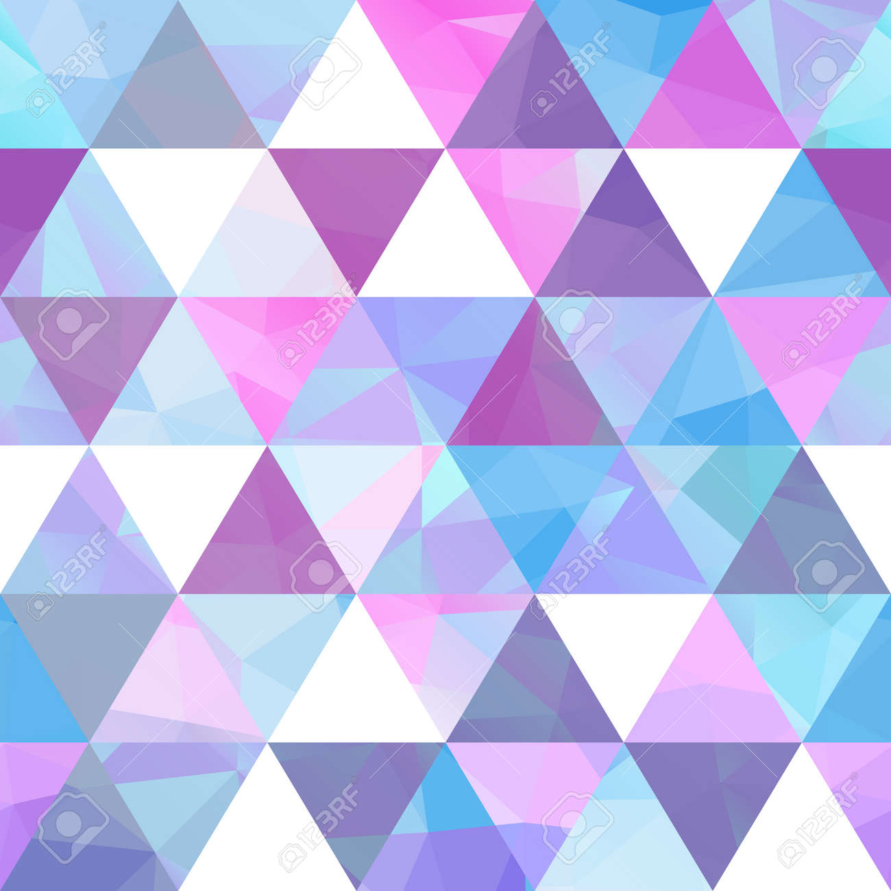 vintage patterns of geometric shapes. colorful mosaic background