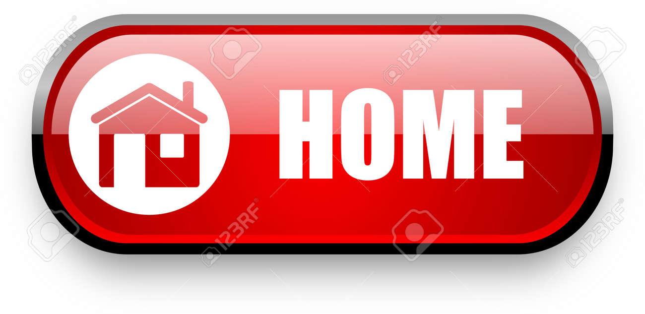 home web button Stock Photo - 11396646