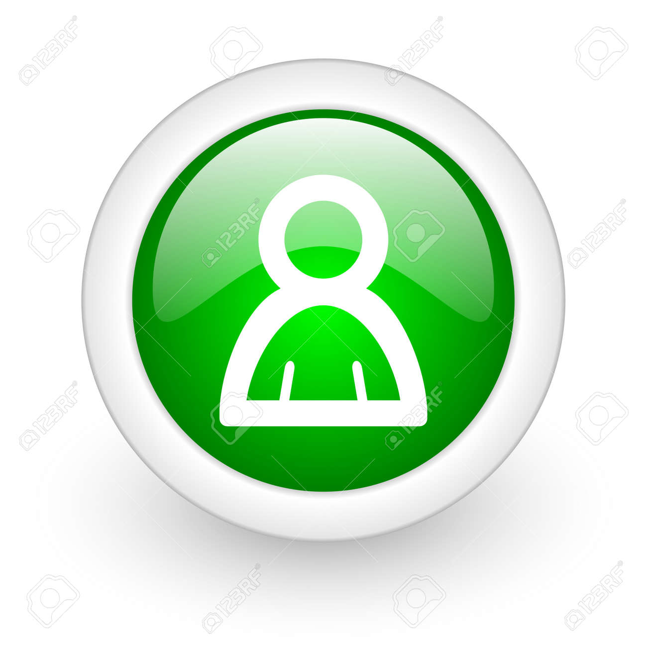 person web button Stock Photo - 11872107
