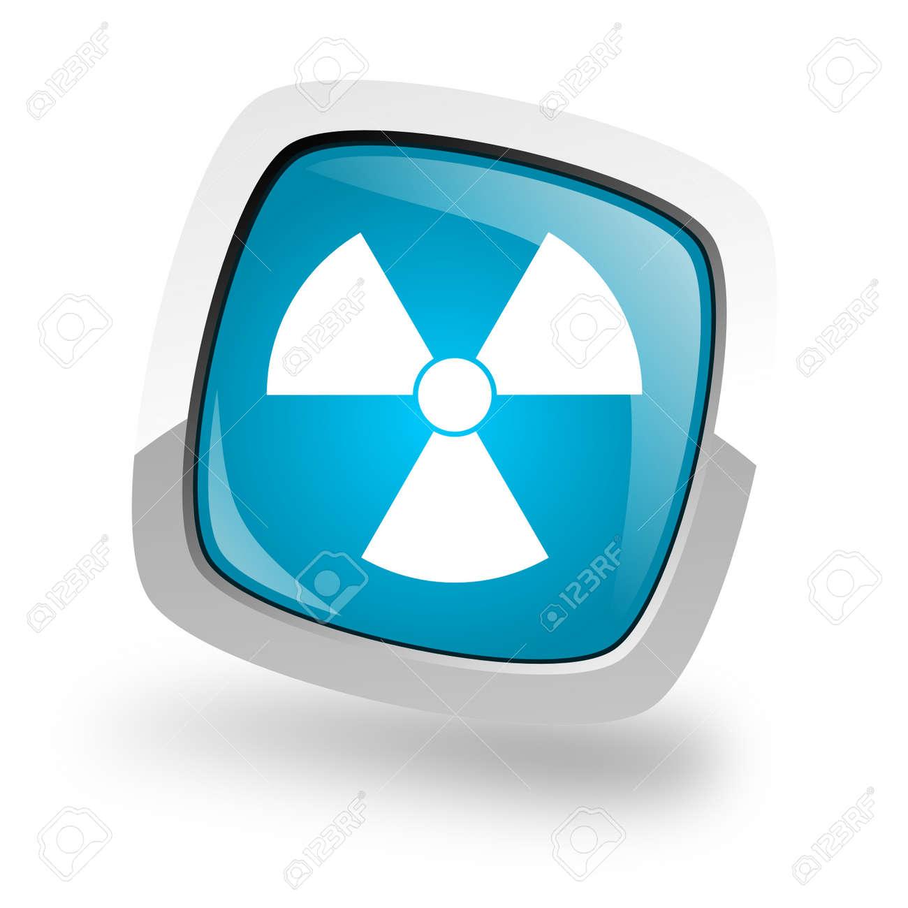 radiation icon Stock Photo - 13457713