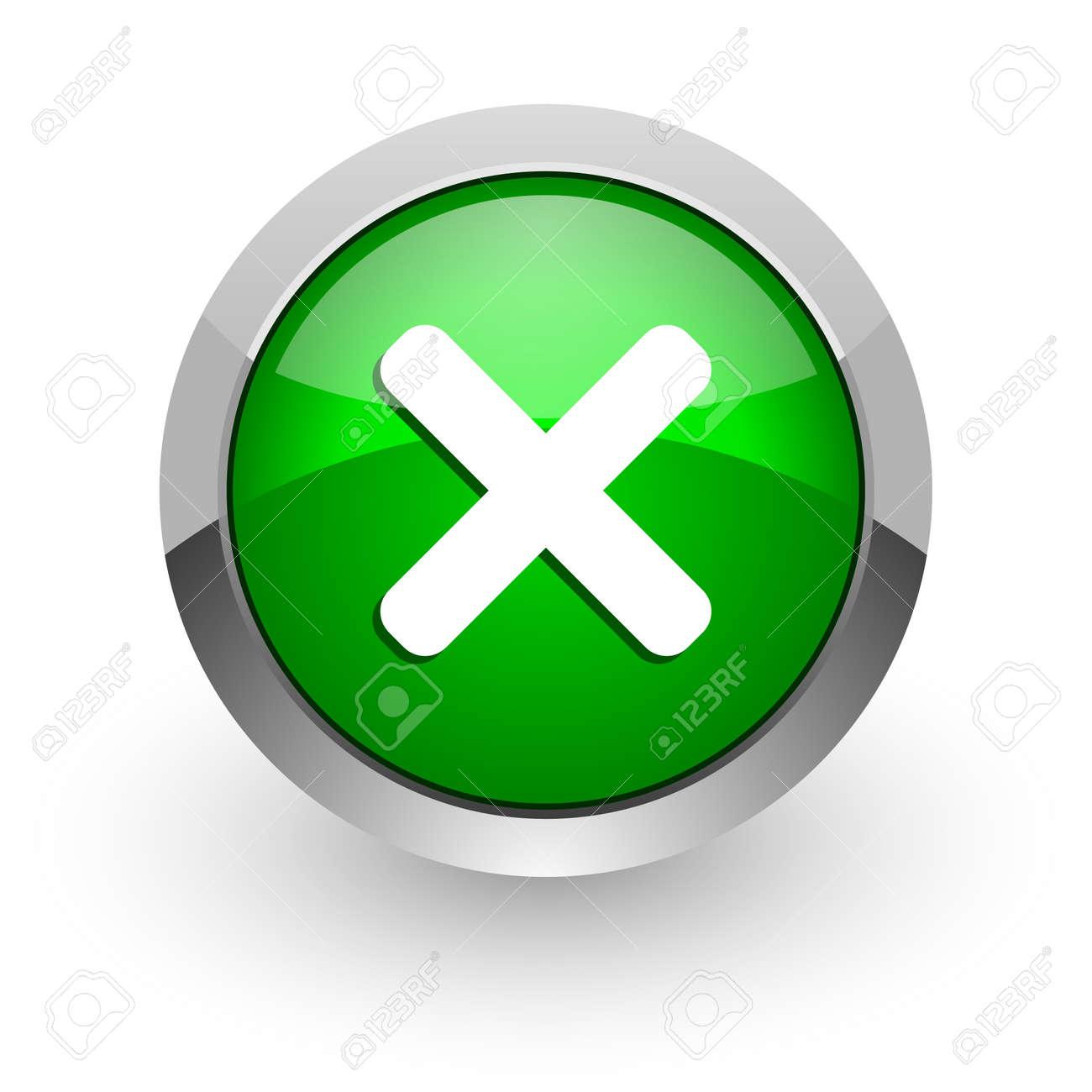 cancel icon Stock Photo - 14471595