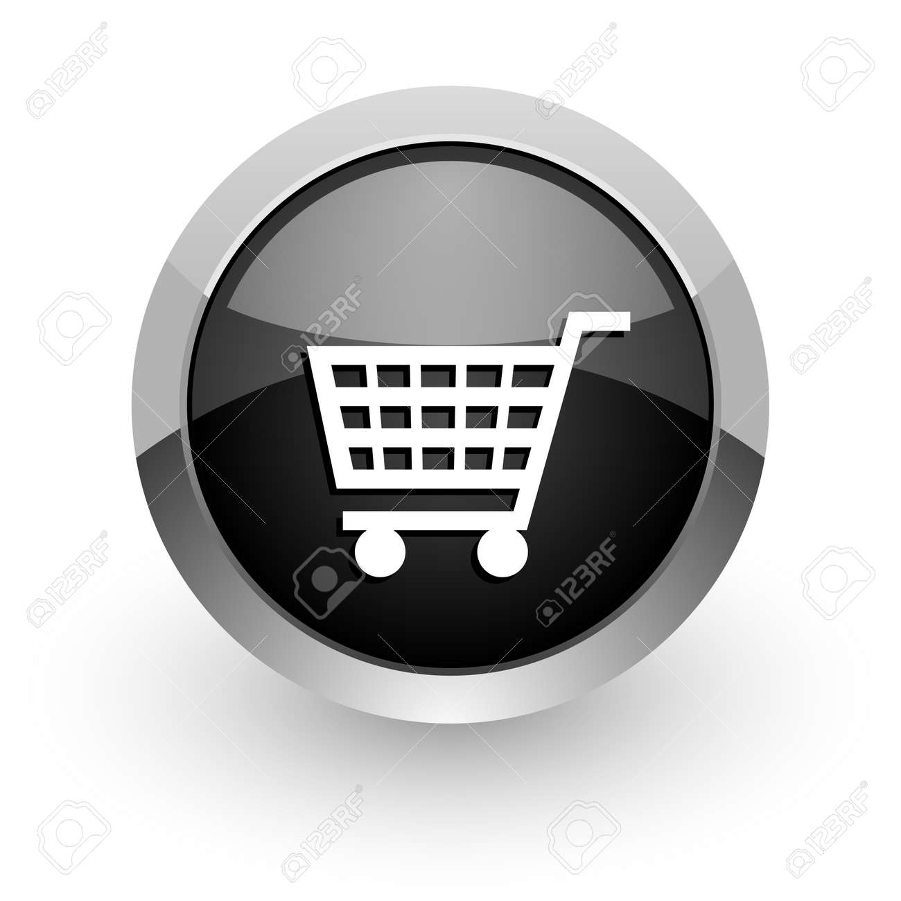 shopping cart icon Stock Photo - 14553490