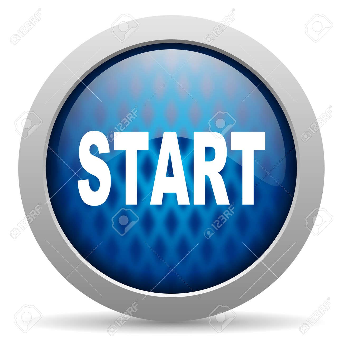 start icon Stock Photo - 15308152