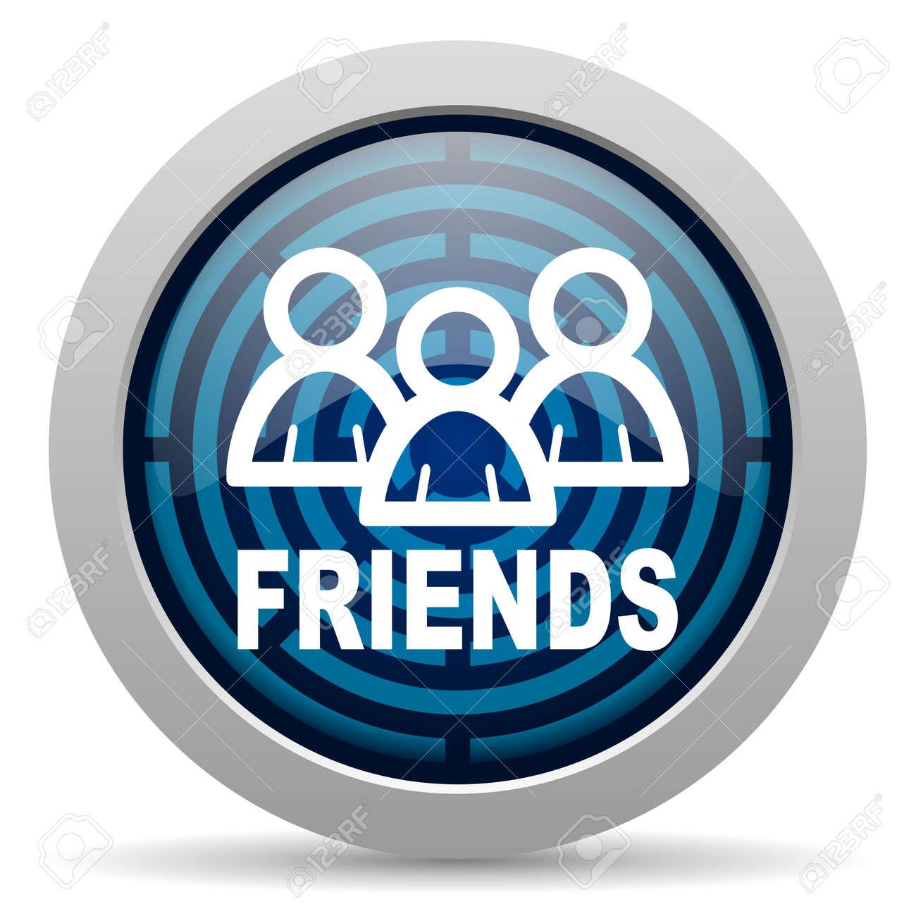 friends icon Stock Photo - 15418049