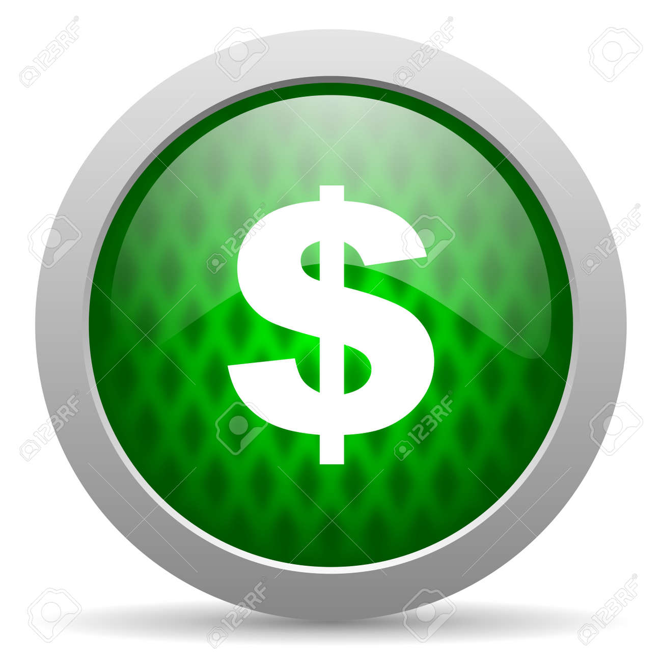 us dollar icon Stock Photo - 15417098