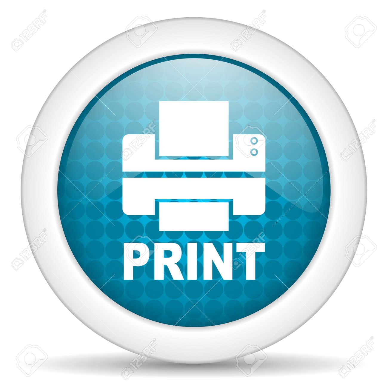print icon Stock Photo - 15463234