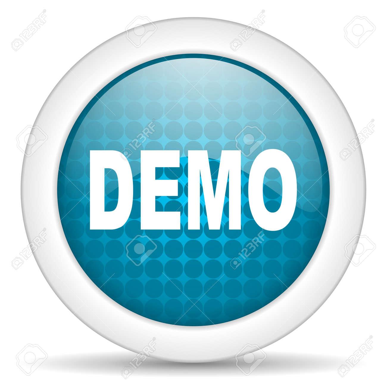 demo icon Stock Photo - 15464032