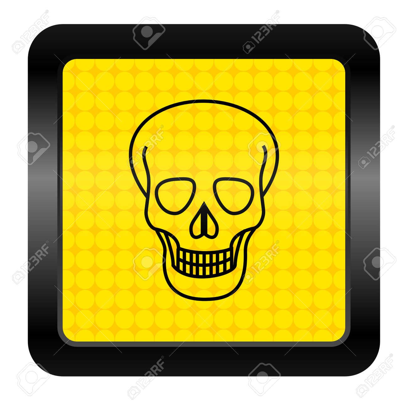 skull icon Stock Photo - 15926271