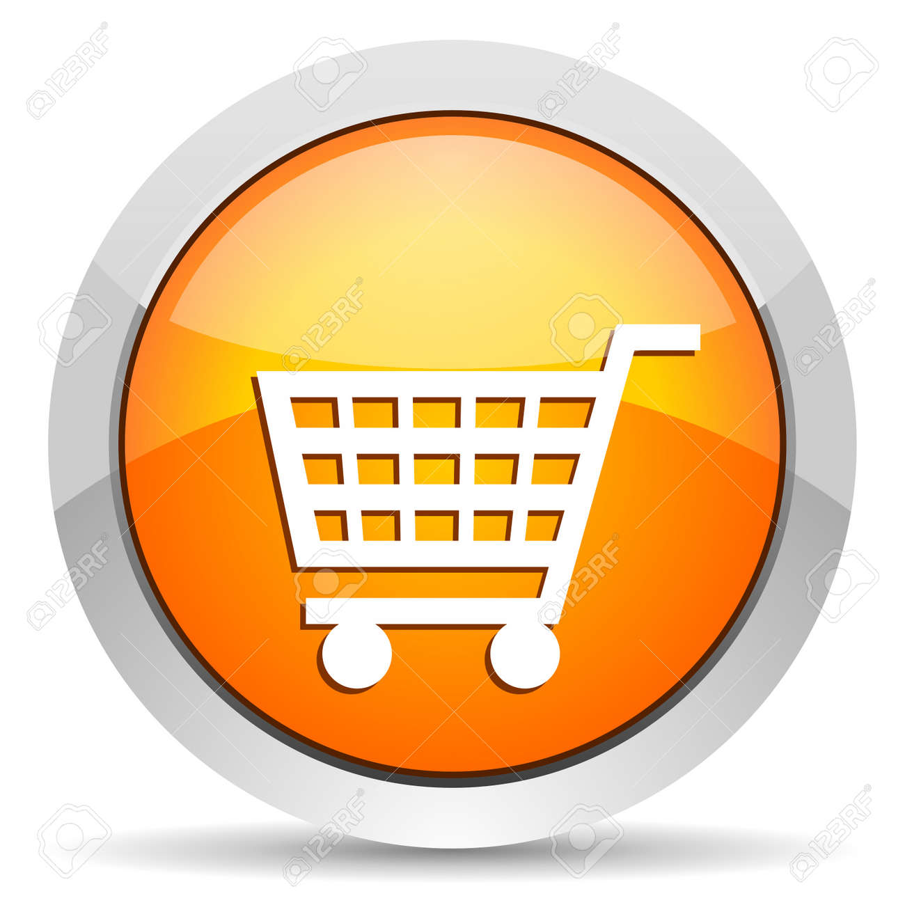 shopping cart icon Stock Photo - 16339524