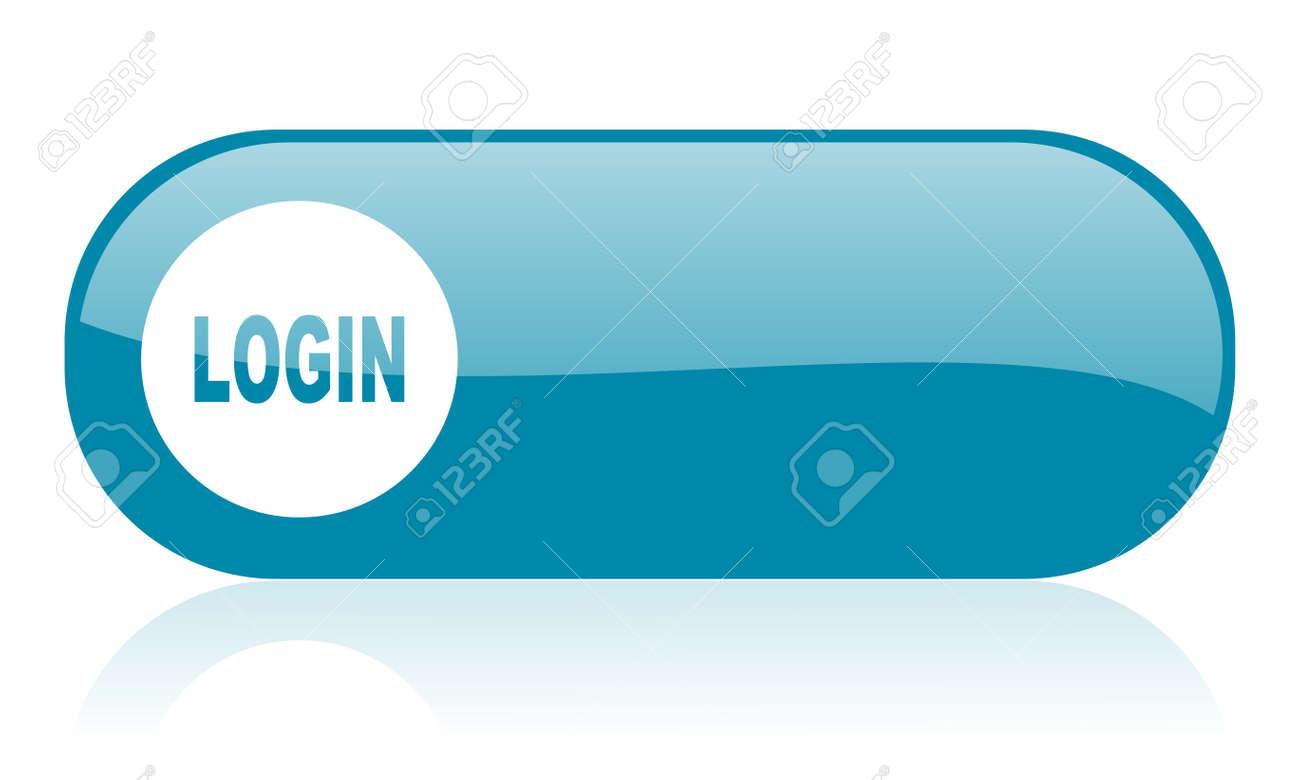 User Login Icon Jpg login blue web glossy icon