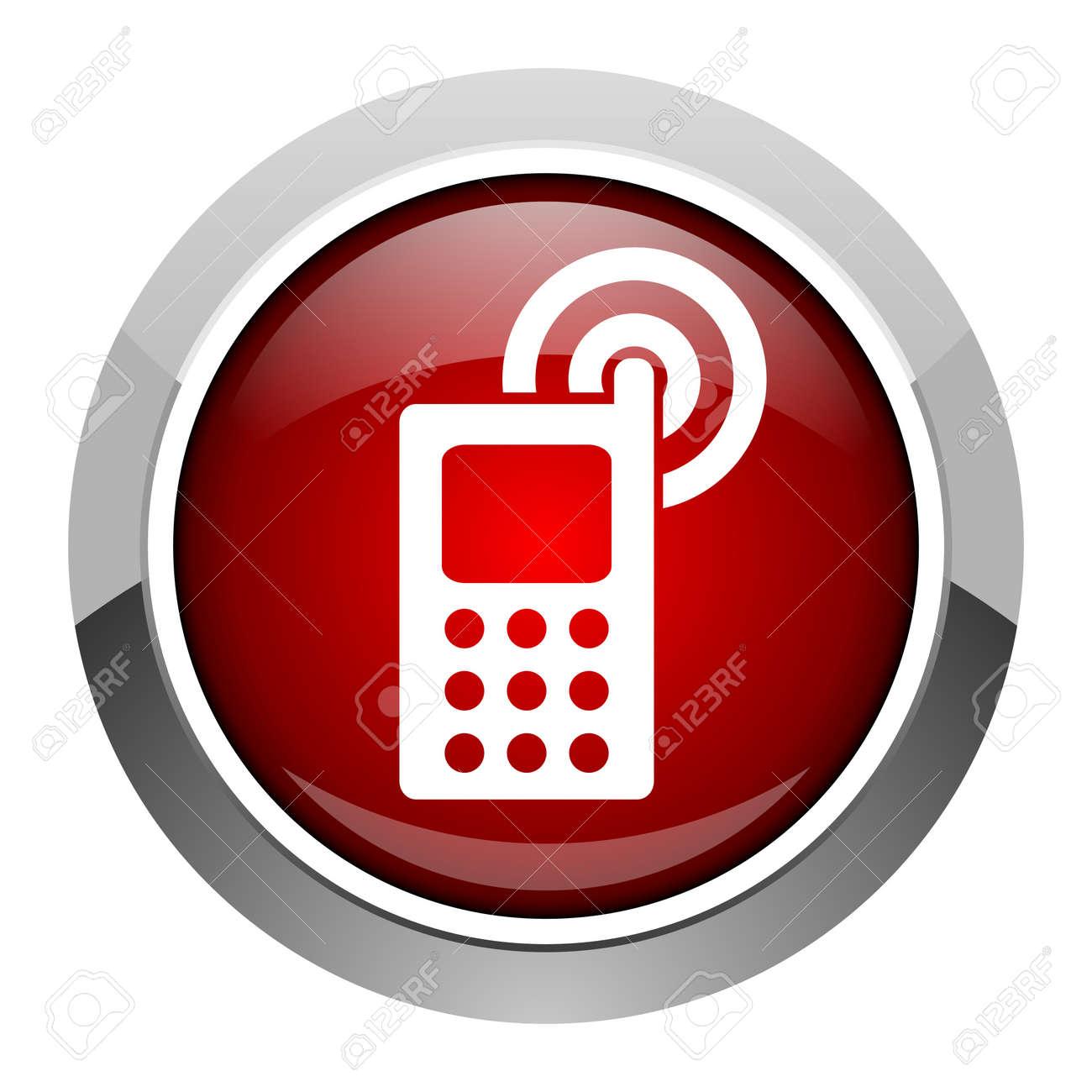 cellphone icon Stock Photo - 20206973