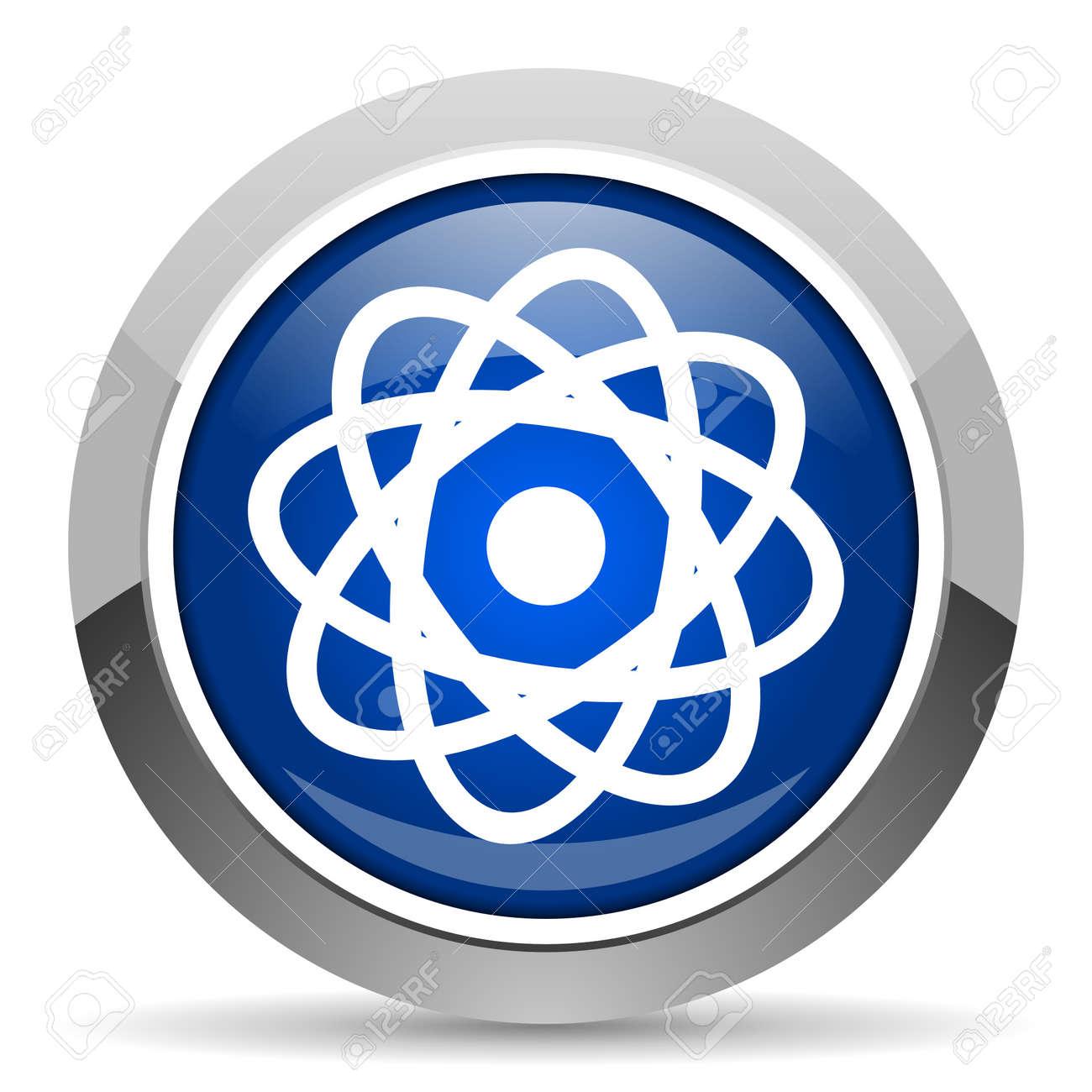 atom icon Stock Photo - 20468962