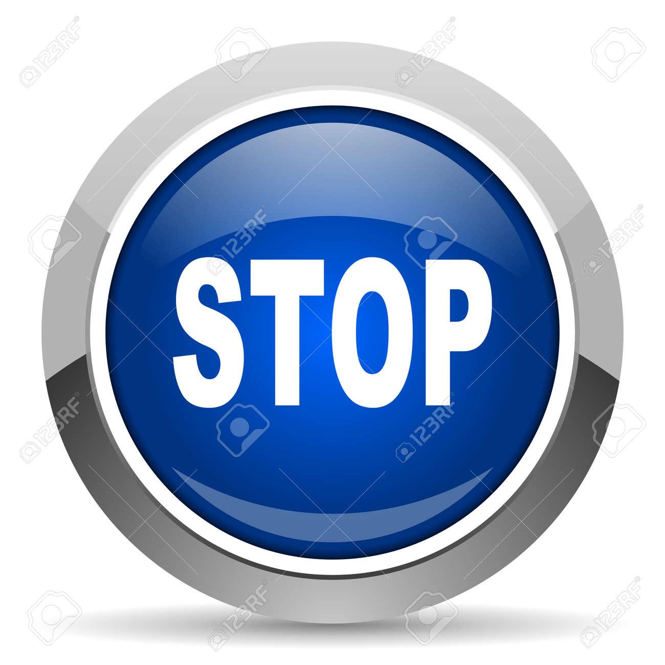 stop icon Stock Photo - 20468850