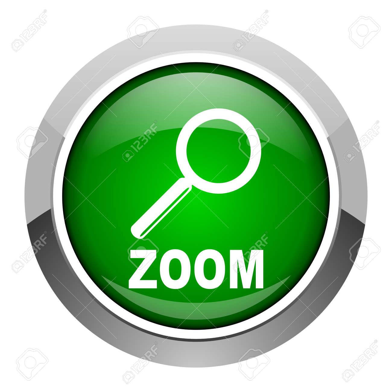 zoom icon Stock Photo - 20546396
