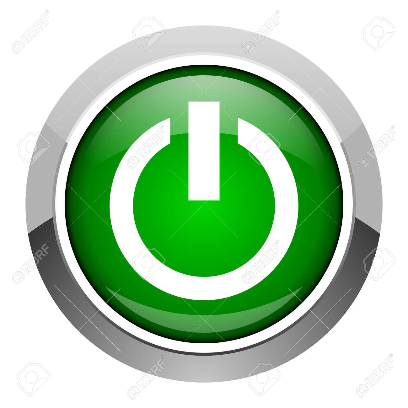 power icon Stock Photo - 20546705