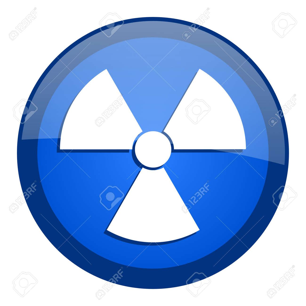 radiation icon Stock Photo - 20699270