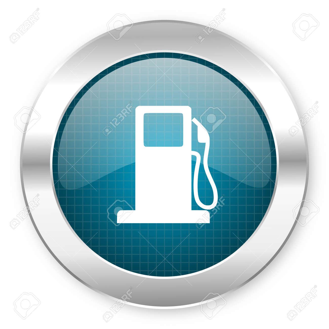 fuel icon Stock Photo - 21081334