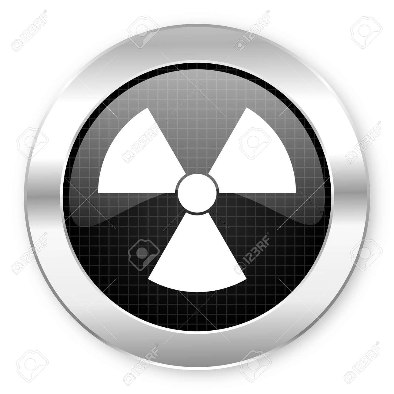 radiation icon Stock Photo - 21082550