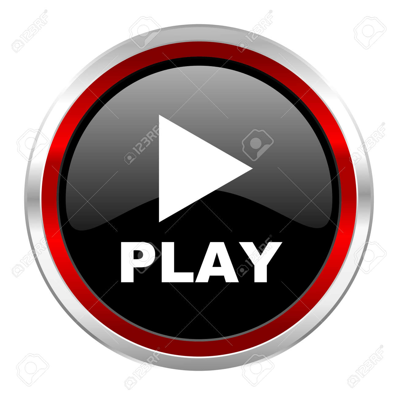 play icon Stock Photo - 21082999