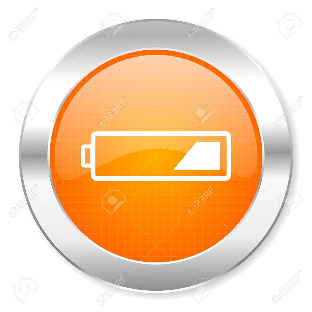 battery icon Stock Photo - 21443175
